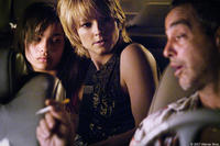 Zoe Kravitz, Jodie Foster and Victor Colicchio in