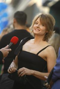 Jodie Foster at The Trevor Project's 10th annual Cracked Christmas benefit fundraiser.