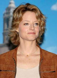Jodie Foster at the photocall to promote