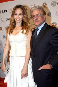 Francesca Cavallin and Giancarlo Giannini at the premiere of