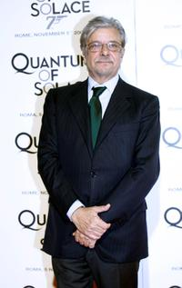 Giancarlo Giannini at the premiere of