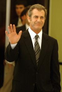 Mel Gibson at the screening of