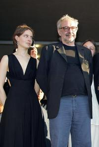Jean-Luc Godard at the 54th Cannes Film Festival projection of