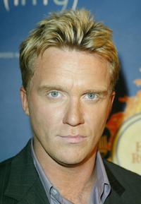 Anthony Michael Hall at the Hollywood Radio and Television Society's 1st Annual Roast.
