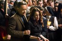 Tom Hanks and Ayelet Zurer in