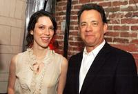 Rebecca Hall and Tom Hanks at the New York afterparty premiere of