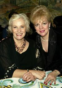 Betty Buckley and KT Sullivan during the 2004 Nightlife Awards Concert.