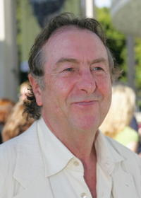 Eric Idle at the opening of