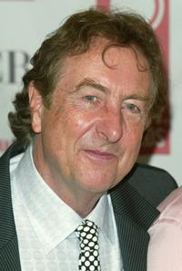 Eric Idle at the 2005 Tony Awards meet the nominees press reception.