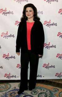 Delta Burke at the media day announcement of