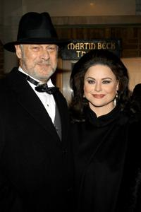 Delta Burke and Gerald McRaney at the New York opening night of