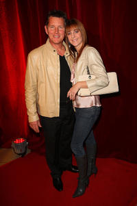 Tom Burlinson and Mandy Carnie at the opening night of
