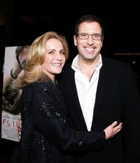 Richard LaGravenese and Wendy Finerman at the premiere of