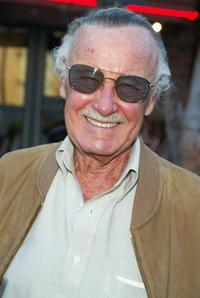 Stan Lee at the premiere of