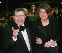 Jerry Lewis at the 55th annual Berlinale International Film Festival premiere of