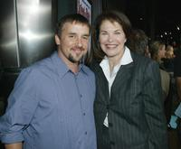 Richard Linklater and Sherry Lansing at the premiere of