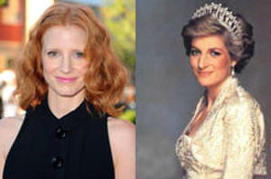 Jessica Chastain to Portray Princess Diana in Film About Real-Life Love Affair