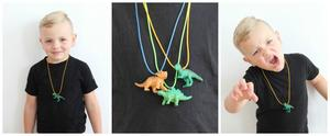 Jurassic Fun: Easy-Peasy Dino Necklaces