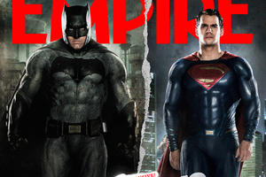 News Briefs: See Powerful New 'Batman v Superman' Image; Patrick Stewart Visits 'X-Men Apocalypse' Set (Photo)
