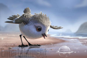 First Looks at Pixar's 'Piper' and Guillermo del Toro's 'Trollhunters'