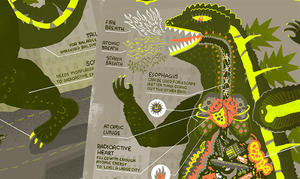 Infographic: The Anatomy of Godzilla