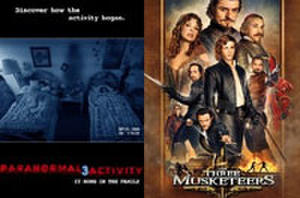 You Rate the New Releases: 'Paranormal Activity 3' and 'The Three Musketeers'