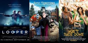 You Pick the Box Office Winner: Can 'Looper' Defeat the Monsters of 'Hotel Transylvania'?