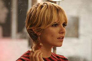 "Sienna Miller portrays Edie Sedgwick in ""Factory Girl."""