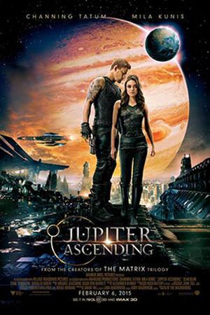 """Poster for """"Jupiter Ascending 3D"""""""