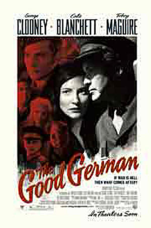 "Poster art for ""The Good German."""