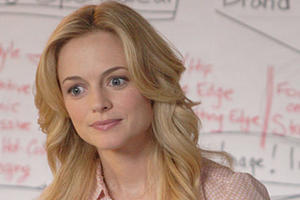 "Heather Graham as Gray in ""Gray Matters."""
