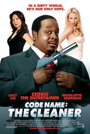 """Poster art for """"Code Name: The Cleaner."""""""