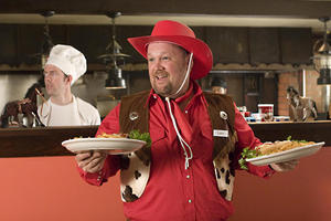 """Larry The Cable Guy in """"Delta Farce."""""""