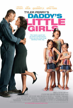 "Poster art for Tyler Perry's ""Daddy's Little Girls."""