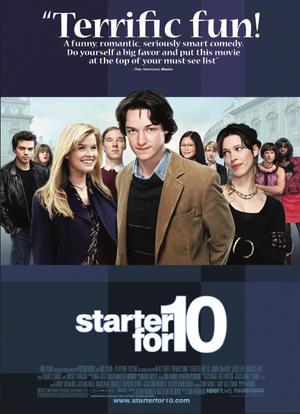 """Poster art for """"Starter for 10."""""""