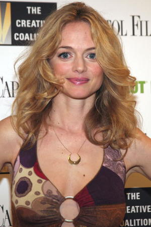 "Actress Heather Graham at the after party of the ""Gray Matters"" premiere in Washington, DC."