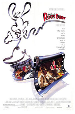 """Poster art for """"Who Framed Roger Rabbit."""""""