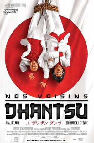 "Poster art for ""Nos Voisins Dhantsu."""