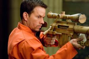 "Mark Wahlberg in ""Shooter."""