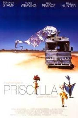 """Poster art for """"The Adventures of Priscilla, Queen of the Desert."""""""