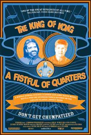 "Poster art for ""The King of Kong: A Fistful of Quarters."""