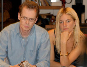 """Steve Buscemi and Sienna Miller in """"Interview."""""""