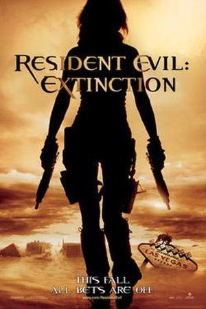"""""""Resident Evil: Extinction"""" poster art."""