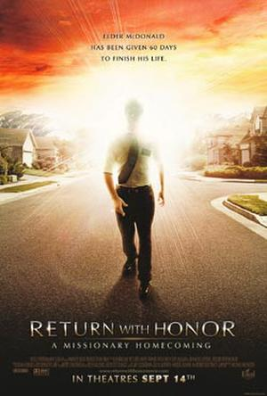 "Poster art for ""Return With Honor: A Missionary Homecoming."""