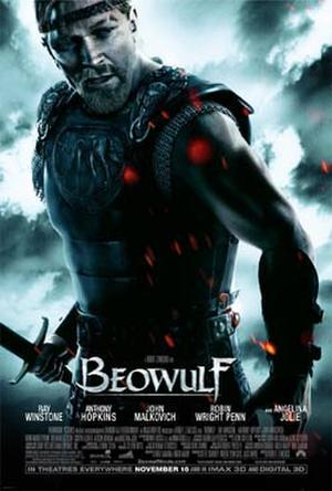 "Poster art for ""Beowulf."""