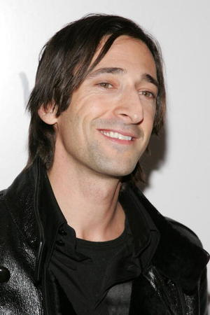 "Actor Adrien Brody at the N.Y. premiere of ""The Diving Bell and the Butterfly."""