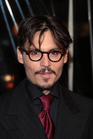 """Sweeney Todd: The Demon Barber of Fleet Street"" star Johnny Depp at the N.Y. premiere."