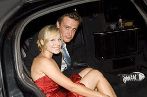 "Kristen Bell and Jason Segel in ""Forgetting Sarah Marshall."""