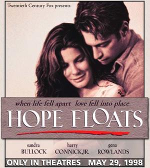 "Poster art for ""Hope Floats."""