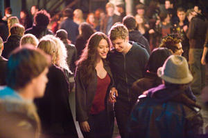 "Kat Dennings and Michael Cera in ""Nick and Norah's Infinite Playlist."""